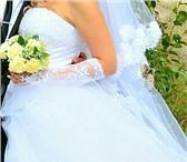 Фото в Одежда и обувь Свадебные платья Свадебное платье в отличном состоянии, пышное, в Челябинске 5000