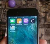 Изображение в Телефония и связь Мобильные телефоны Продам айфон 6 16Гб черного цвета в отличном в Уфе 21500
