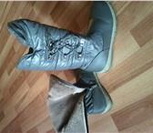 Фото в Одежда и обувь Детская обувь Продам сапожки зимние на девочку, р-р 34 в Омске 400