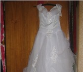 Фотография в Одежда и обувь Свадебные платья Продам свадебное платье б/у г.Жуковский, в Жуковском 11000