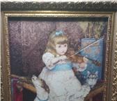 Фото в Хобби и увлечения Разное вышивка размер 45на50 Девочка со скрипкой в Ижевске 25000
