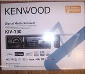 Фото в Электроника и техника Автомагнитолы I POD мультимедийный ресивер Kenwood kiv в Перми 7400