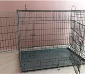 Foto в Домашние животные Товары для животных Продам металлическую клетку, б\у, в отличном в Новосибирске 2900