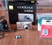 Изображение в Электроника и техника Фотокамеры и фото техника Продается фотокамера Nikon COOLPIX S2500 в Кирове 700