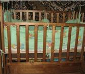 Изображение в Для детей Детская мебель детская кроватка продольного маятникового в Смоленске 5000