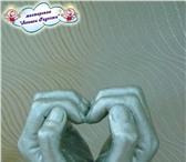Фотография в Одежда и обувь Разное 3Д копии рук молодоженов, влюбленных, юбиляров в Красноярске 2000