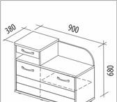 Фотография в Мебель и интерьер Мебель для прихожей Тумба Триумф 36.07. Новая Цвет венге/белёный в Тюмени 5200