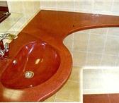 Foto в Мебель и интерьер Мебель для ванной Производим монолитные столешницы с покрытием в Липецке 0