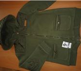 Фотография в Для детей Детская одежда модная куртка на флисе, рост 110 см. в Туле 500