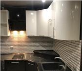 Изображение в Мебель и интерьер Мебель для гостиной Кухня углвоая (1700*1800) фасады глянец металлический в Москве 90200