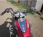 Изображение в Авторынок Мотоциклы класный чоп. в идеале! ветровик, доп. кофр в Омске 100000