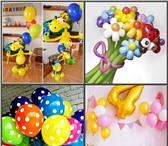 Фотография в Для детей Разное Воздушные, светящиеся гелиевые шарики на в Москве 40
