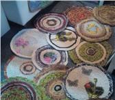 Foto в Мебель и интерьер Ковры, ковровые покрытия Коврики деревенские ручной работы из натуральных в Екатеринбурге 0