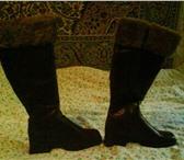 Изображение в Одежда и обувь Женская обувь Сапоги зимние р р 37на36   Нат кожа   нат в Москве 2000
