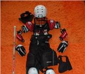 Фотография в Спорт Спортивная одежда Продам полное детское хоккейное снаряжение в Уфе 8000