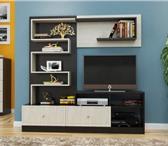 Foto в Мебель и интерьер Мебель для гостиной Тип фасадаМДФ с фрезеровкойМатериал фасадаМДФМатериал в Барнауле 3490