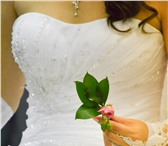 Фото в Одежда и обувь Свадебные платья Продам белое свадебное платье фирмы Maxima, в Пензе 4000