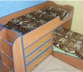 Фото в Мебель и интерьер Мебель для детей Продам комплект мебели для детской на двух в Пскове 10000