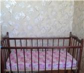Фото в Для детей Детская мебель продам детскую кроватку- качалку. матрац в Нижнем Тагиле 1000