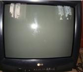 Изображение в Электроника и техника Телевизоры Цвет черный, с ПДУ, диагональ 45 см, в отличном в Омске 3800