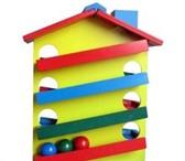 Foto в Для детей Детские игрушки Горка Домик.Яркий разноцветный домик с деревянными в Воронеже 630