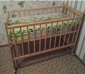 Изображение в Мебель и интерьер Мебель для детей Детская кроватка не новая, но в отличном в Красноярске 3000